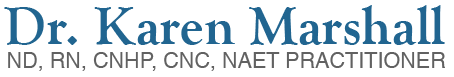 Karen Marshall NAET Logo
